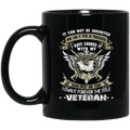 Veteran Coffee Mug I Have Earned It With My Sweat Blood Lives I Own It Forever The Tittle Veteran 11oz - 15oz Black Mug CustomCat