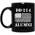 Veteran Coffee Mug Veteran Alumni 214 11oz - 15oz Black Mug CustomCat