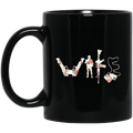 Veteran Coffee Mug Wife Veteran Lovers 11oz - 15oz Black Mug CustomCat