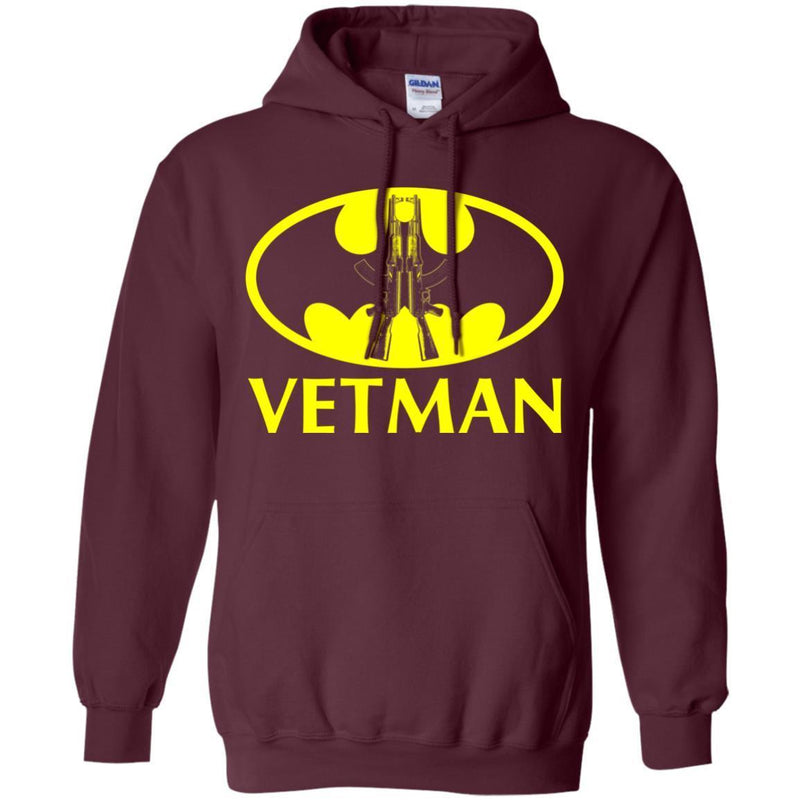VETMAN Veterans T-shirts & Hoodie for Veteran's Day CustomCat