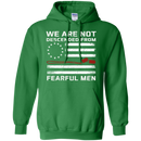 We Are Not Descened From Fearful Men Veteran T-shirt CustomCat