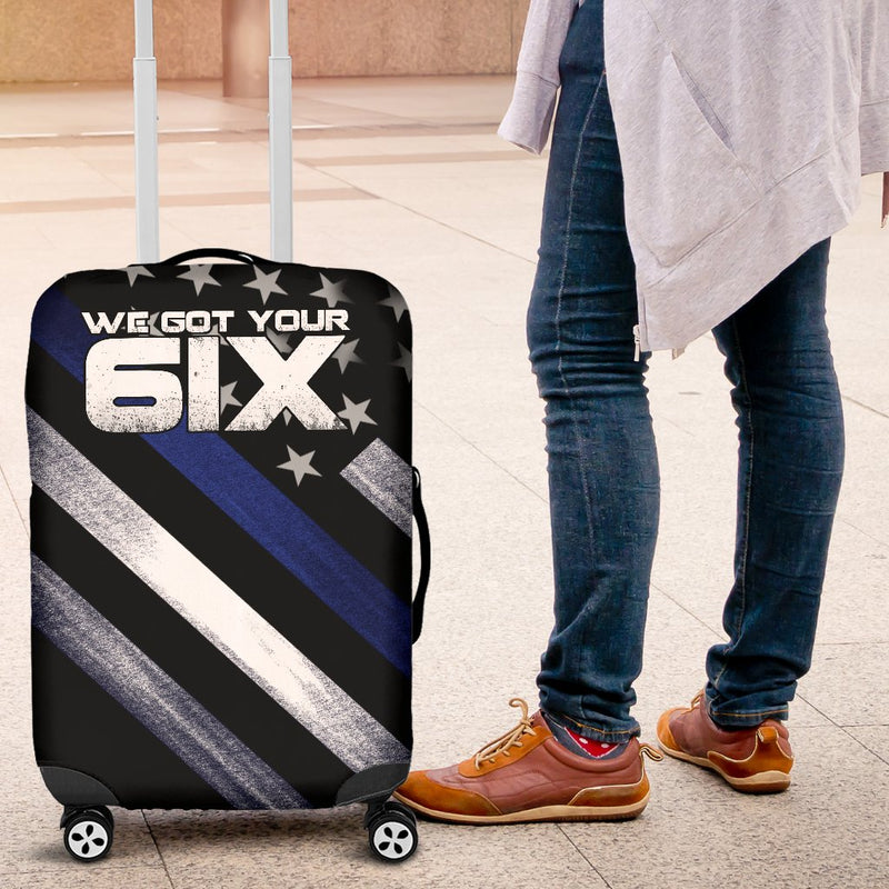 We Got Your 6IX Luggage Cover interestprint