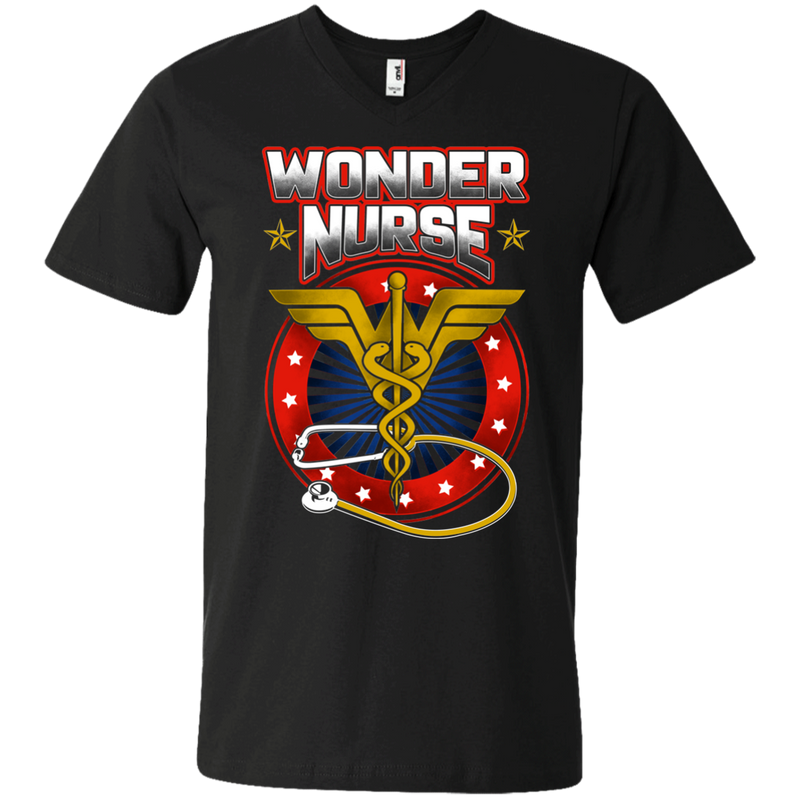 Wonder Nurse Tshirts CustomCat