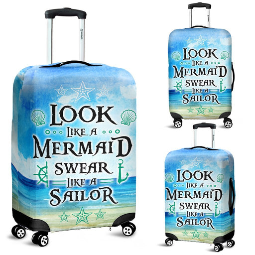 Wonderful Mermaid Luggage Covers My Soul & Spirit
