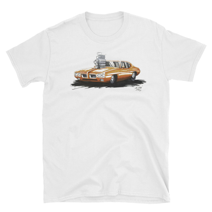Pro Street Pontiac GTO - Chris Morland Collection - Men's T-Shirt