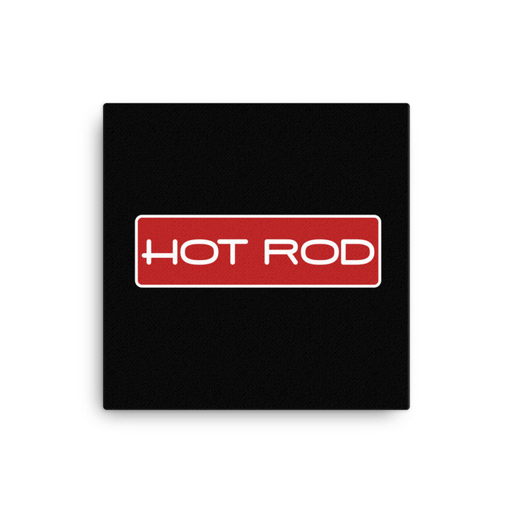 Hot Rod Logo - Modern Rodder - Canvas Print