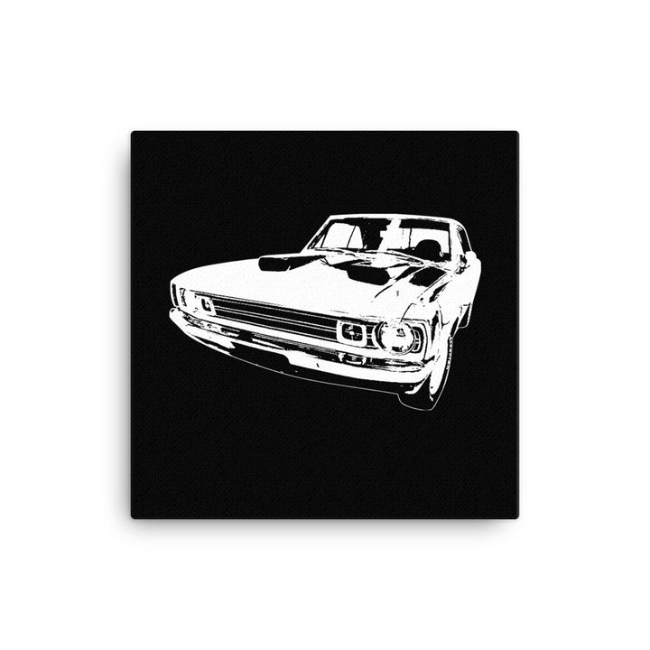 1972 Dodge Dart - Modern Rodder - Canvas Print