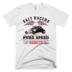 Salt Racers - Pure Speed Addicts - Modern Rodder - Men's T-Shirt