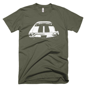 1972 Chevelle SS Rear End - Modern Rodder - Men's T-Shirt