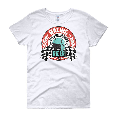 Racing Rider - Modern Rodder - Women's T-Shirt