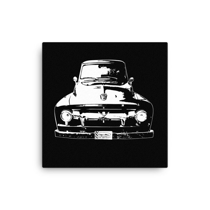 1954 Ford F100 - Modern Rodder - Canvas Print