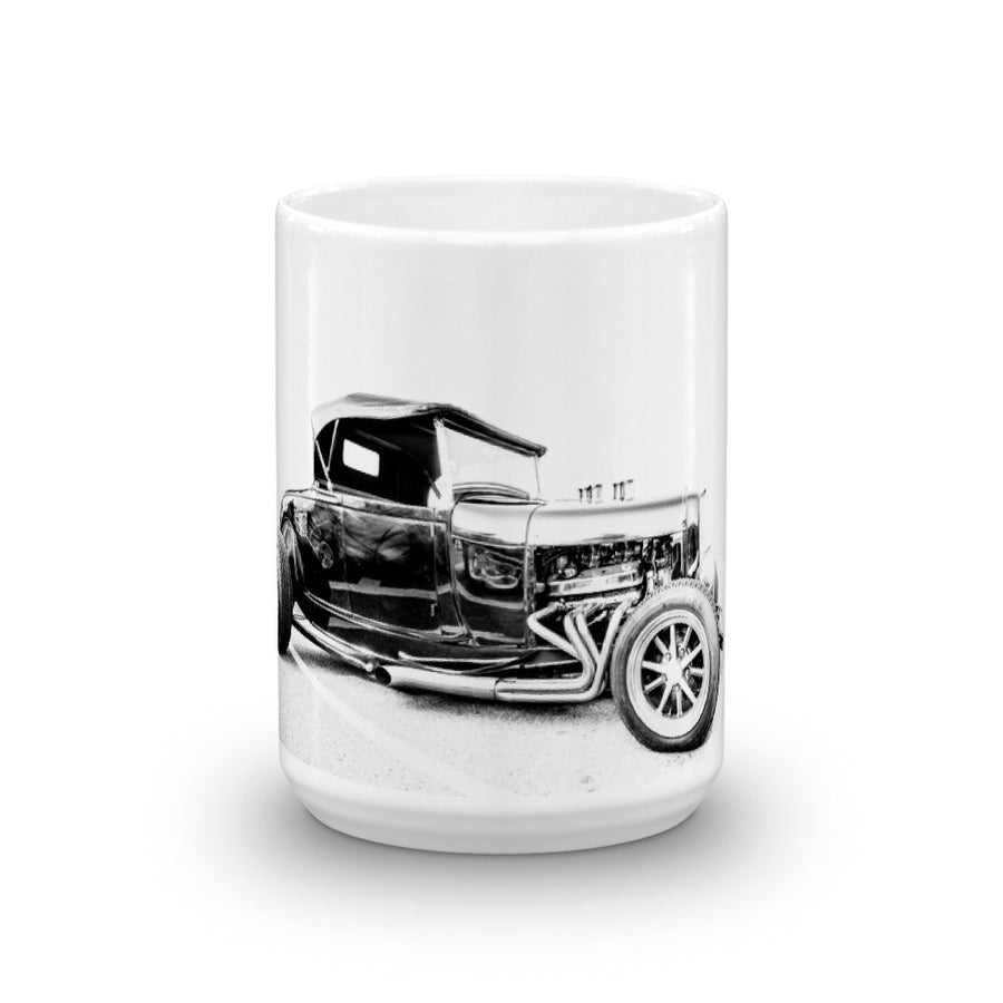 Ford Hot Rod Convertible - Will Glover Featured Artist - Mug made in the USA