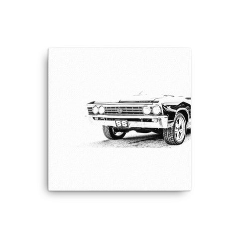 Chevelle SS - Will Glover Featured Artist - Canvas Print