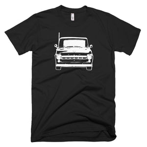 1957 Ford F100 - Modern Rodder - Men's T-Shirt
