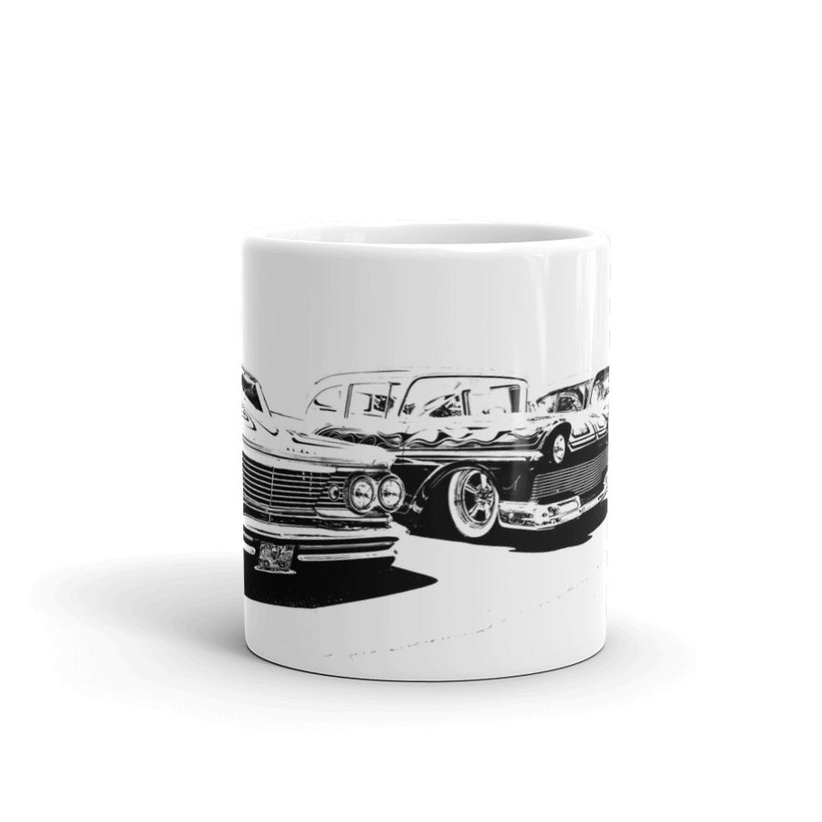 Low Rider Car Collection - Will Glover Featured Artist - Mug made in the USA