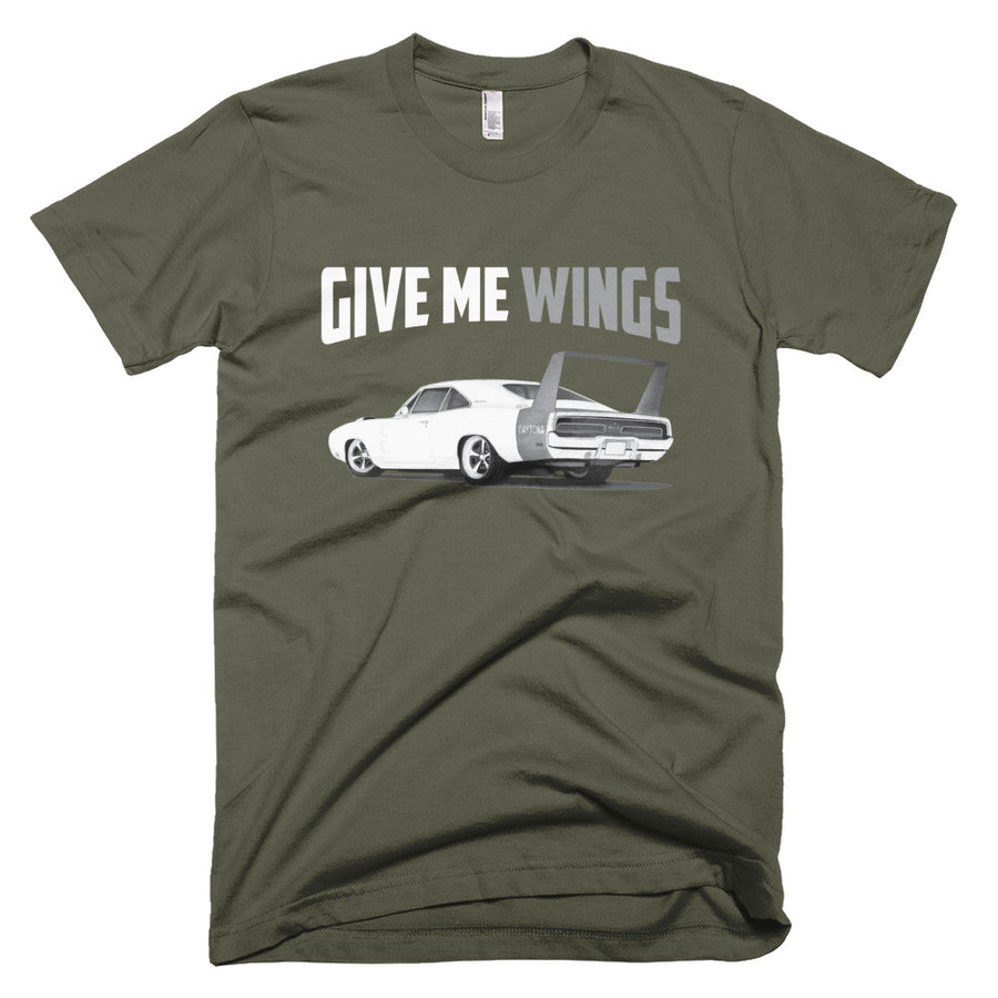 Give Me Wings - Daytona - Modern Rodder - Men's T-Shirt