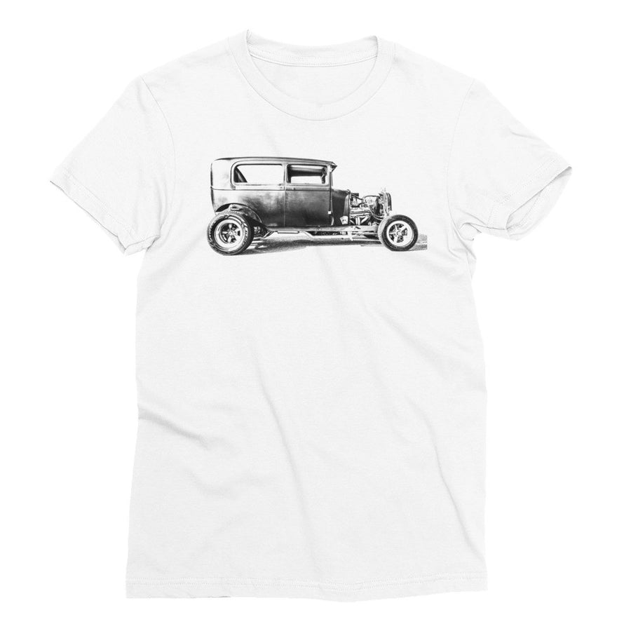 Ford Vicky Hot Rod - Will Glover Featured Artist - Women's Short Sleeve T-Shirt