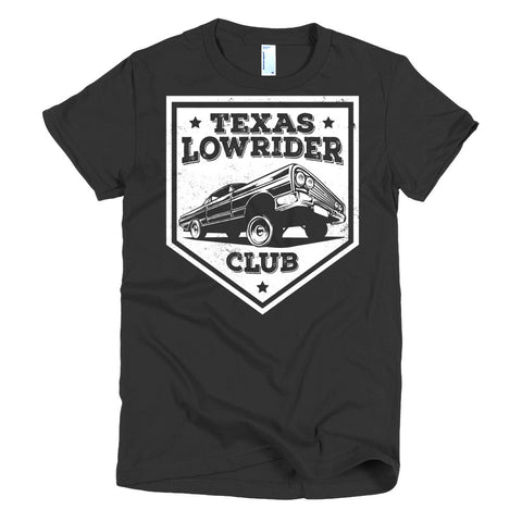 Texas Lowrider Club - Modern Rodder - Women's T-Shirt