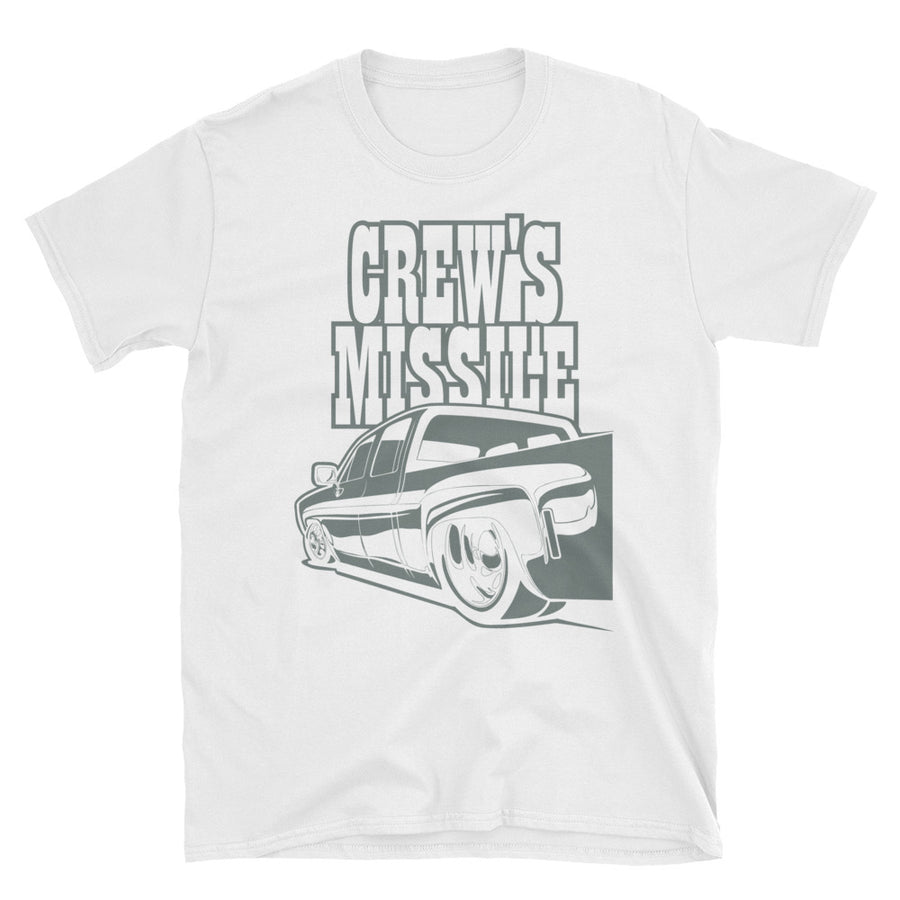 Crew's Missile - Cool Chevy Work Truck - Jeremy Ratchford Collection - Men's T-Shirt