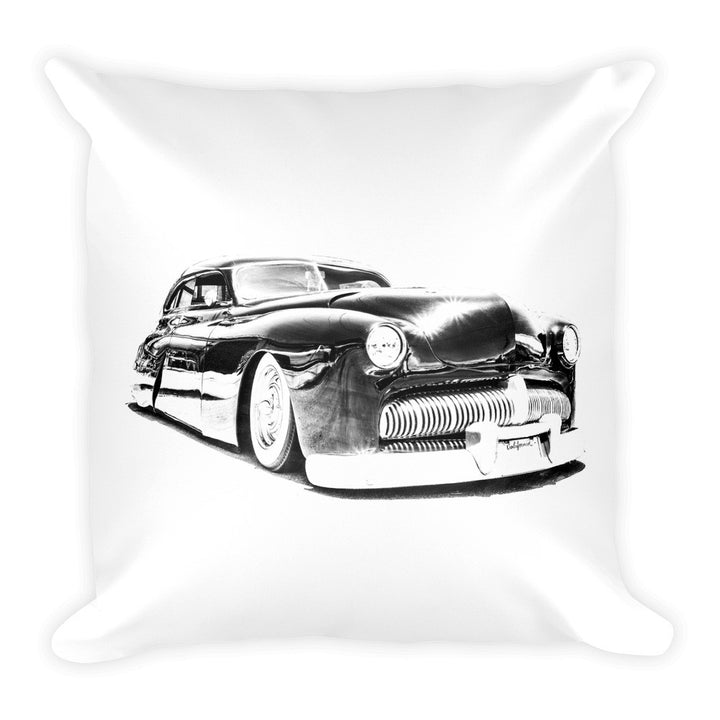 Mercury Lead Sled - Will Glover Featured Artist - Soft Pillow