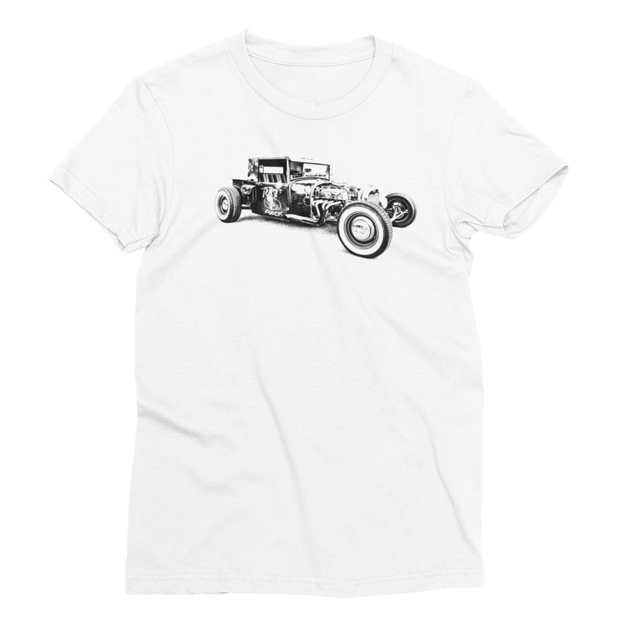 Ford Rat Rod - Will Glover Featured Artist - Women's Short Sleeve T-Shirt