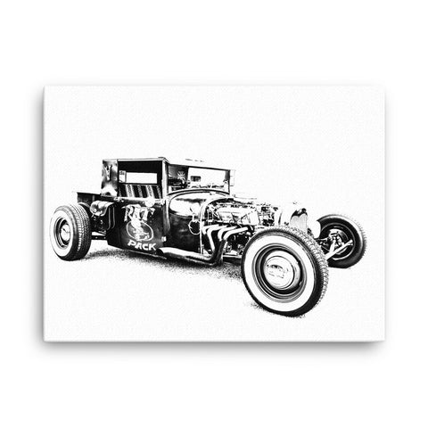 1928 Ford Rat Rod - Will Glover Featured Artist - Canvas Print