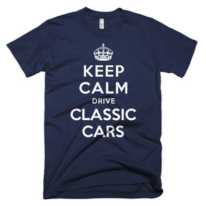 Keep Calm Drive Classic Cars - Modern Rodder - Men's T-Shirt