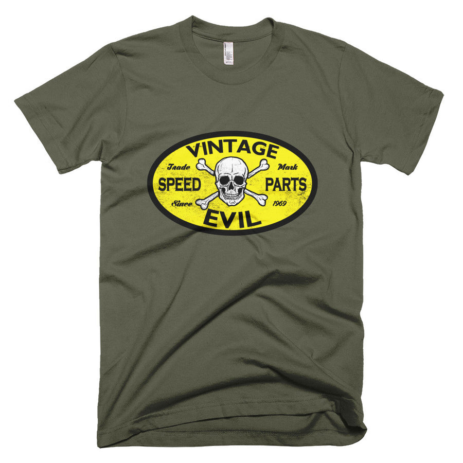 Vintage Evil Speed Parts - Modern Rodder - Men's T-Shirt