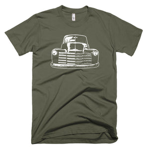 1952 Chevy 3100 Custom Pickup Truck - Modern Rodder - Men's T-Shirt