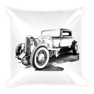1932 Deuce Coupe Hot Rod - Will Glover Featured Artist - Soft Pillow