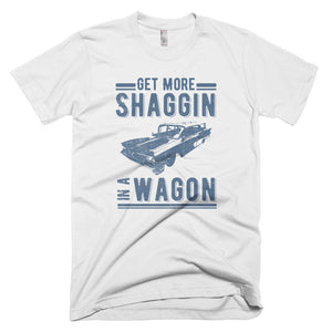 Get More Shaggin' in a Wagon - Modern Rodder - Men's T-Shirt