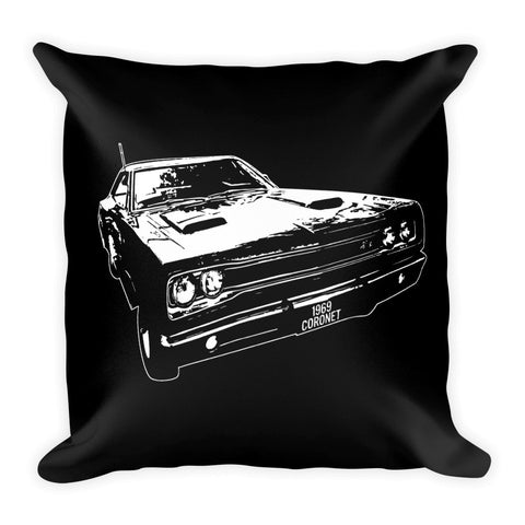 1969 Dodge Super Bee - Modern Rodder - Soft Pillow