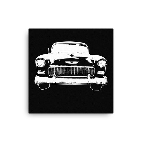 1955 Chevy BelAir - Moern Rodder - Canvas Print