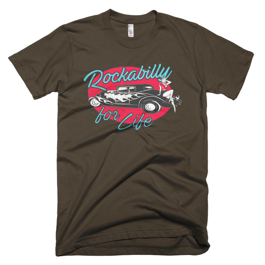 Rockabilly For Life - Modern Rodder - Men's T-Shirt