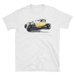 1932 Ford Vintage Rat Rod Race Car - Will Glover Collection - Men's T-Shirt