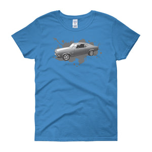 Chevelle Splash - Modern Rodder - Women's T-Shirt