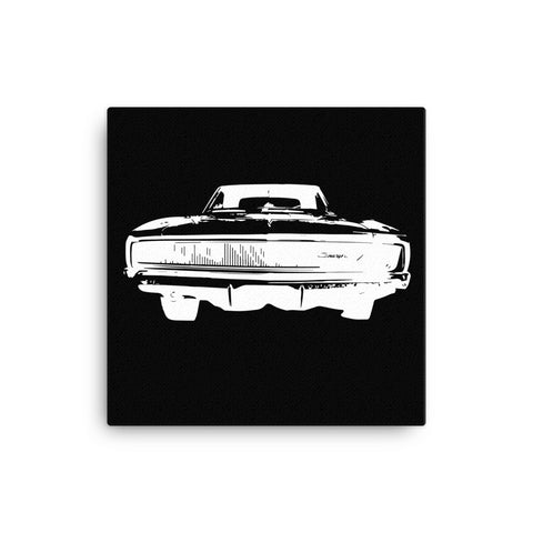 1968 Dodge Charger R/T - Modern Rodder - Canvas Print