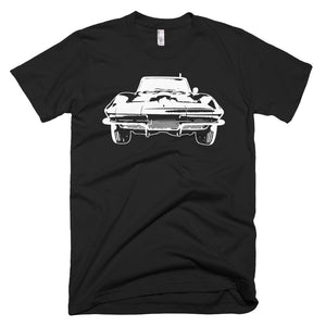 Corvette Sting Ray - Modern Rodder - Men's T-Shirt