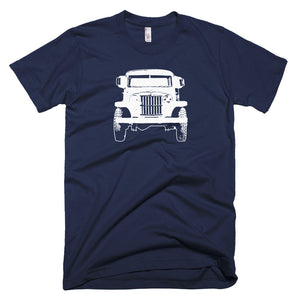 1962 Jeep Willys Pickup Truck - Modern Rodder - Men's T-Shirt
