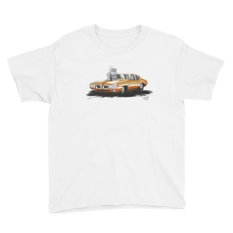 Pontiac GTO Pro-Street - Chris Morland Collection - Youth Short Sleeve T-Shirt