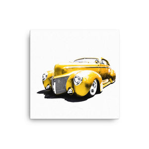 Ford Street Rod - Will Glover Featured Artist - Canvas Print