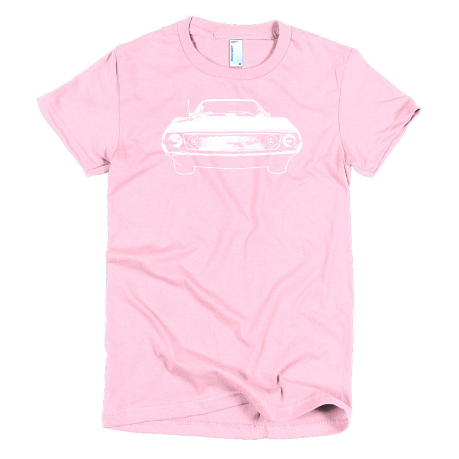 1972 AMC Javelin - Modern Rodder - Women's T-Shirt