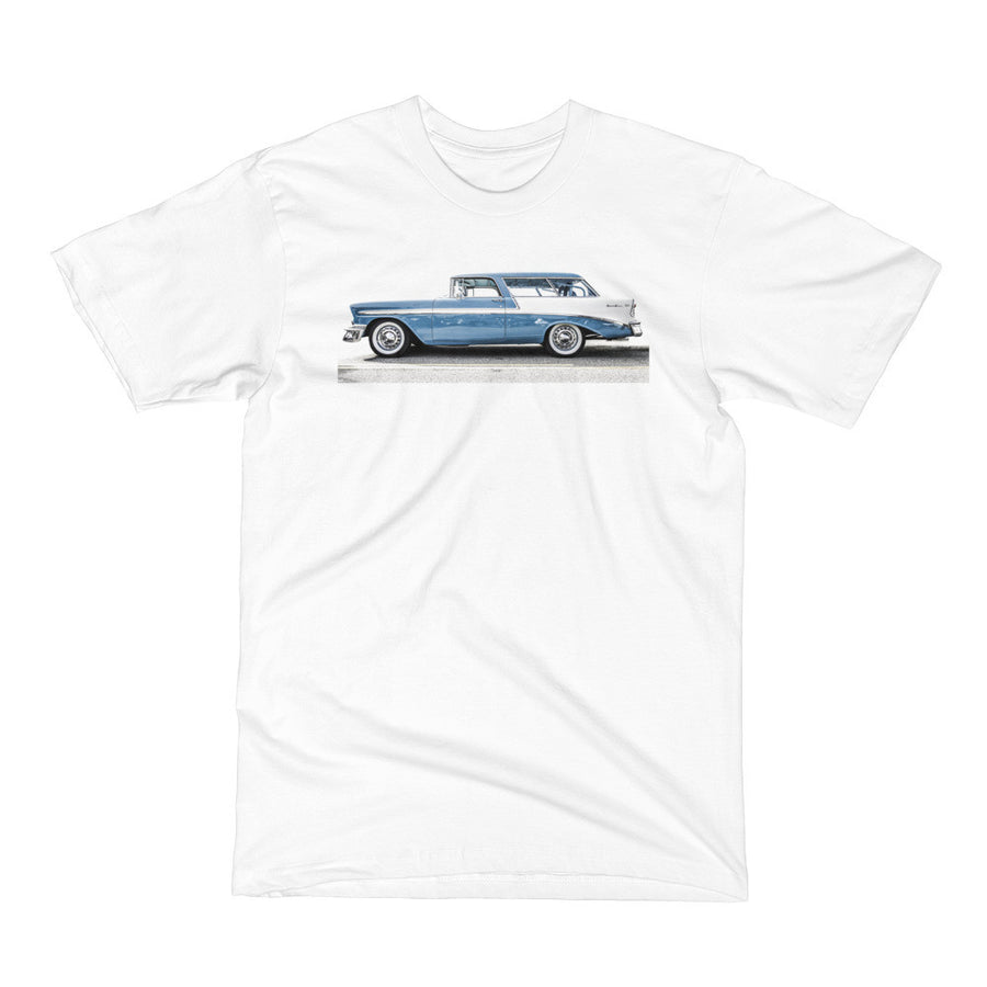 1956 Chevy Bel Air Nomad - Will Glover Featured Artist - Men's Short Sleeve T-Shirt