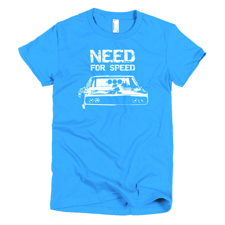 Need For Speed - Fast and Furious Charger - Modern Rodder - Women's T-Shirt