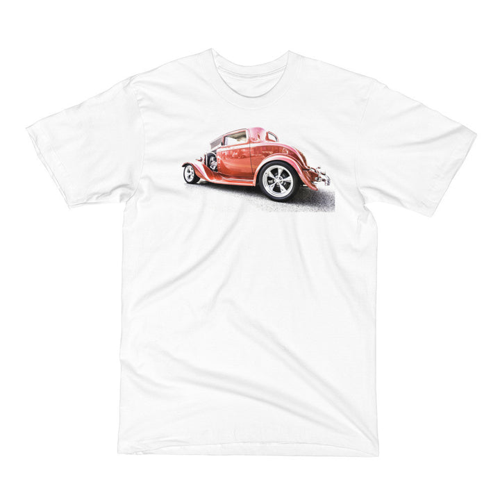 1932 Ford Three Window Hot Rod - Will Glover Featured Artist - Men's Short Sleeve T-Shirt