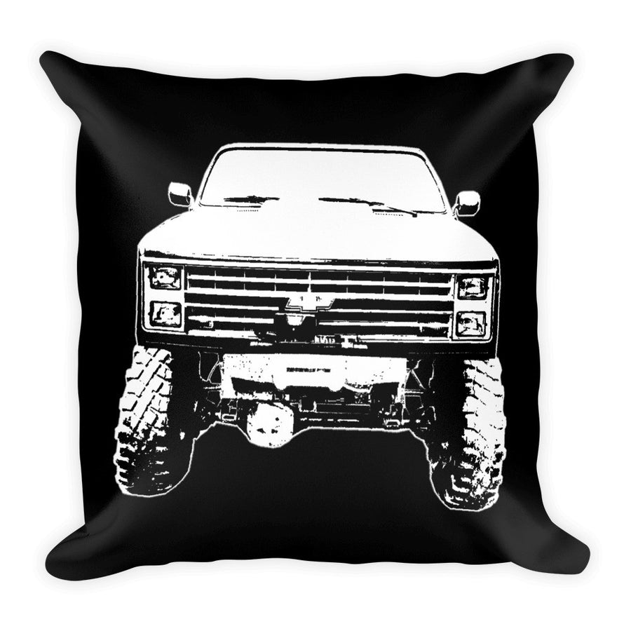1984 Chevy K-10 4x4 - Modern Rodder - Soft Pillow