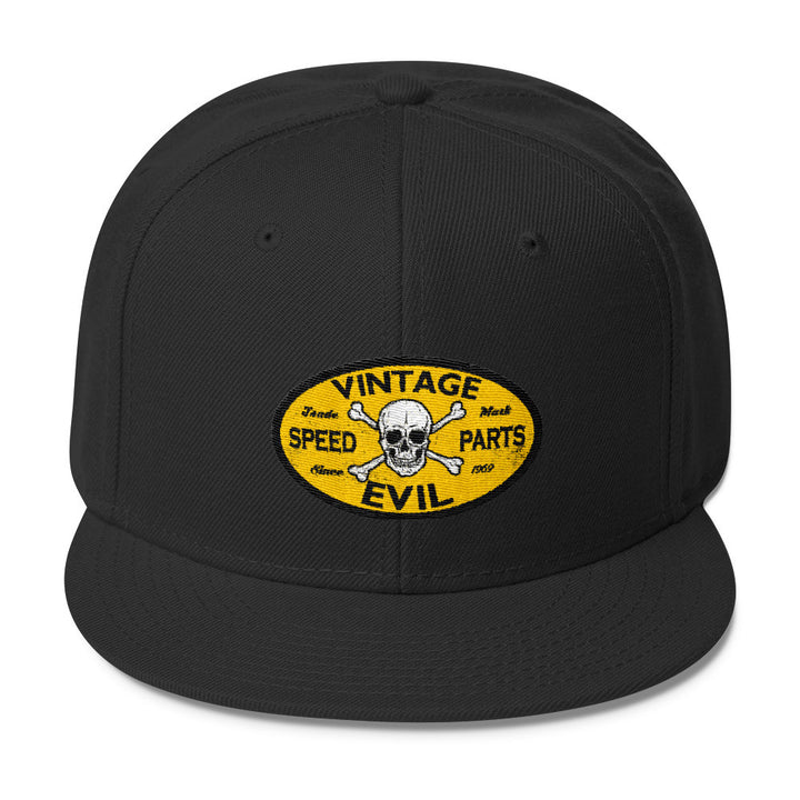 Vintage Evil Speed Parts - Modern Rodder - Snapback Hat