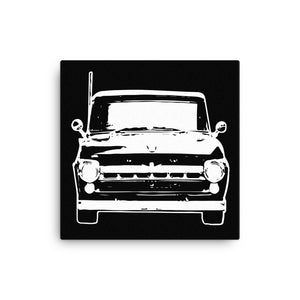 1957 Ford F100 - Canvas Print