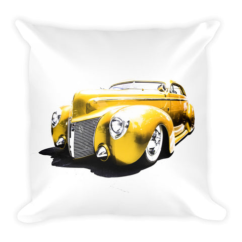 1940 Ford Street Rod - Will Glover Featured Artist - Soft Pillow