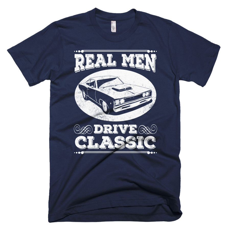 Real Men Drive Classic - Modern Rodder - Men's T-Shirt